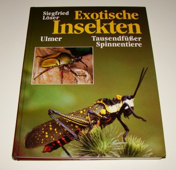 Exotische Insekten, Tausendfüßer und Spinnentiere
